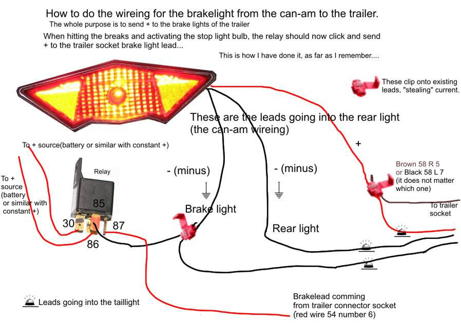 can am spyder trailer wiring diagram wiring diagram